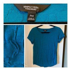 🌟Simply Vera (Vera Wang) Blue Tee🌟